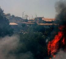 Nuevo incendio forestal indigna a bomberos