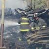 Bomberos de Viña del Mar controlaron incendio ocurrido en el  sector de Achupallas.
