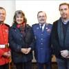 Octava Compañía celebra su trigésimo quinto aniversario en presencia de autoridades locales
