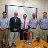 Comandante del Cuerpo de Bomberos de Viña del Mar recibe a máximas autoridades operativas del Cuerpo de Bomberos de Valparaíso