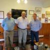 Superintendente del Cuerpo de Bomberos de Viña del Mar realiza visita protocolar a Oficiales Generales del Cuerpo de Bomberos de Valparaíso