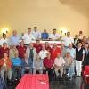 Oficiales Generales reciben a Miembros Honorarios del Cuerpo de Bomberos en almuerzo de camaradería