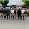 Superintendentes de Cuerpo de Bomberos de Viña del Mar y Valparaíso encabezan recepción de Fuerza Conjunta