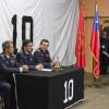 Décima Compañía celebró su Primer Aniversario con la presencia de autoridades institucionales y comunales