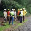 Tercer Comandante participa en curso para la actuación de incendios en la interfaz urbano forestal dictado por USAID OFDA junto a CONAF