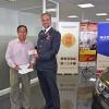 RIFA 2018: Tesorero General entrega llaves de un auto cero kilómetros a vecino de Forestal que, con un solo boleto, resultó ganador del premio mayor