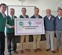 Cuerpo de Bomberos de Viña del Mar recibe significativa donación de la empresa Jumbo durante desayuno con sus trabajadores