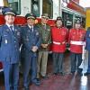 Con visita de Presidente Nacional de Bomberos de Chile, Superintendente del Cuerpo de Bomberos de Viña del Mar recibe unidad especializada en rescate