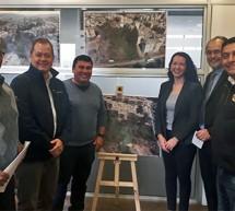 Superintendente Cuerpo de Bomberos de Viña del mar recibe donación de terreno en sector Reñaca Alto, donde se construirá nuevo Cuartel para la Novena Compañía