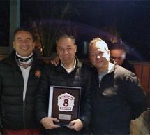 Directorio General realiza reconocimiento especial a Bombero Honorario y ex Director de la Octava Compañía, señor Jaime Rodriguez Lattuz