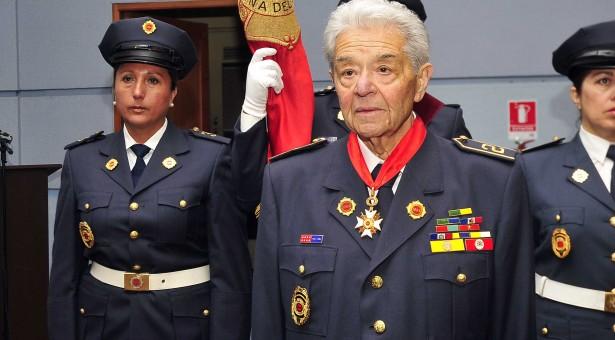 Cuerpo de Bomberos de Viña del Mar despide a Miembro Honorario del Directorio General, Bombero Insigne de Chile e integrante de la Segunda Compañía, señor Sergio Molina Olmedo Q.E.P.D