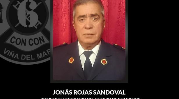La institución informa Funerales del Bombero Honorario del Cuerpo, integrante de la Sexta Compañía, señor Jonás Rojas Sandoval (Q.E.P.D)
