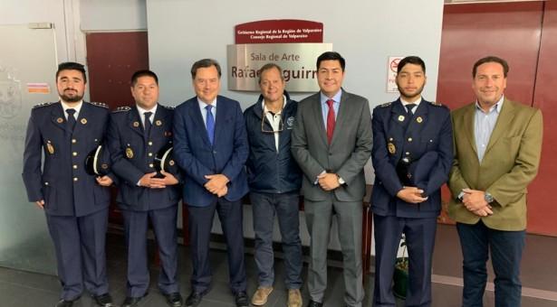 Pleno de Consejo Regional de Valparaiso aprueba proyecto para financiamiento del nuevo Cuartel de la Décima Compañía