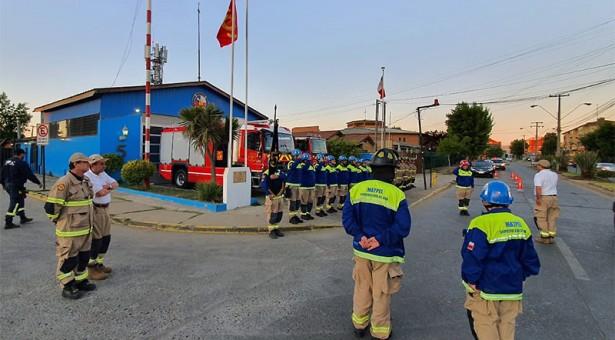 Quinta Compañía conmemora 18 años de especialidad en Materiales Peligrosos con asistencia de Máxima autoridad institucional