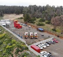 Cuerpo de Bomberos de Viña del Mar inaugura su Centro de Entrenamiento y recepciona modernos carros para combate de incendios forestales
